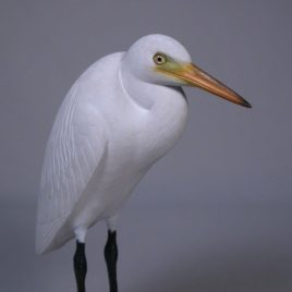 7-1/2″ Great Egret