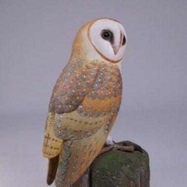 5.5 inch Barn Owl