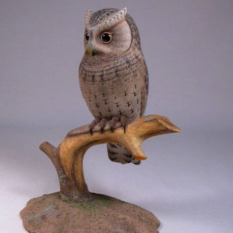 6-1/4″ Flammulated Owl