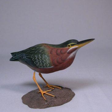 7″ Green Heron #1