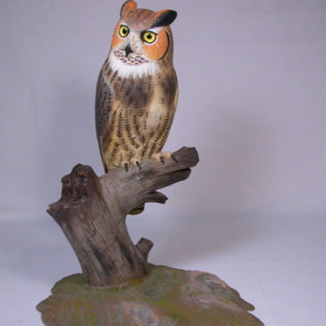 10 inch Great Horned Owl