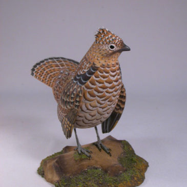 6″ Ruffed Grouse