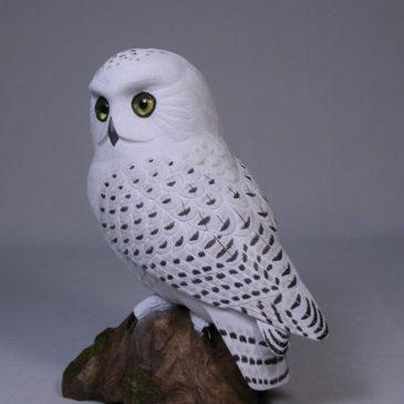 7 inch Snowy Owl