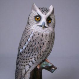 7 1/8 inch Eastern Screech Owl