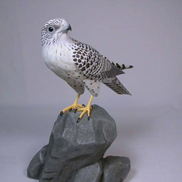 9 inches Gyrfalcon