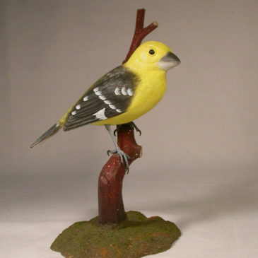 Yellow Grosbeak #2