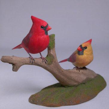 Mini male and female Cardinal #1