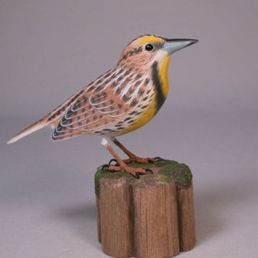 Mini 5″ Eastern Meadowlark