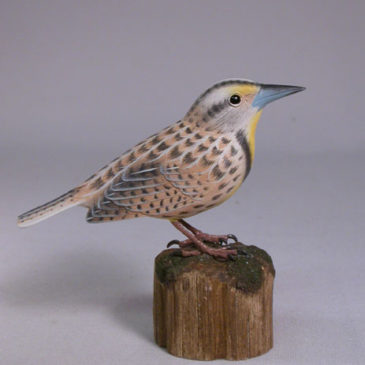 Mini 5″ Western Meadowlark
