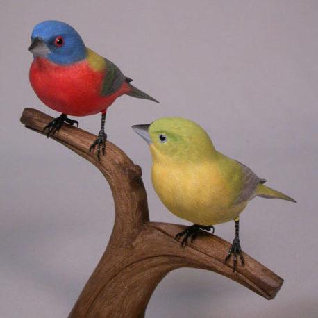pair-PaintedBunting-3