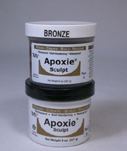Bronze Color Apoxie sculpt 1 pound