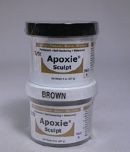 Brown Color Apoxie sculpt 1 pound