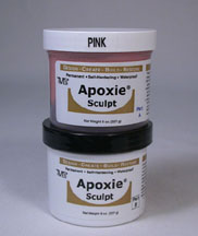 Pink Color Apoxie sculpt 1 pound