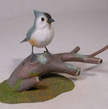 Tufted Titmouse #3