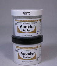 White Color Apoxie sculpt 1 pound