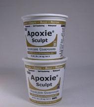 Apoxie sculpt White 4 pounds