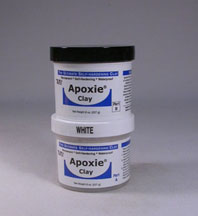 White Apoxie Clay 1 pound