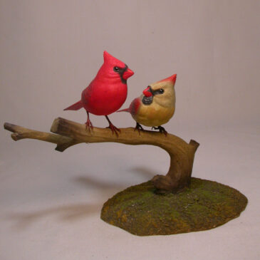 Mini male and female Cardinal #6