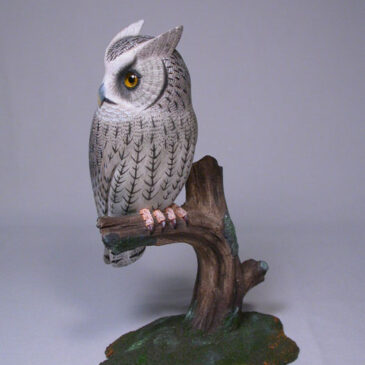 7 1/8″ Whiskered Screech Owl